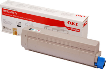 Originálny toner OKI 45862818 (Čierný)