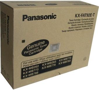 Originálný toner Panasonic KX-FAT92E-T (Čierný)