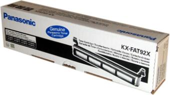Originálný toner Panasonic KX-FAT92X (Čierný)