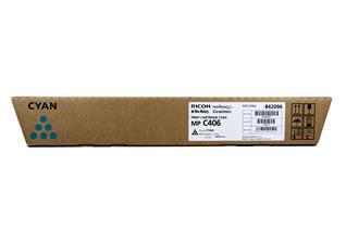 Originálny toner Ricoh 842096 (Azúrový)