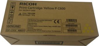 Originálný toner Ricoh 408317 (Žltý)