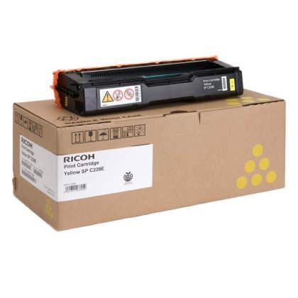Originálny toner Ricoh 406055 (Žltý)