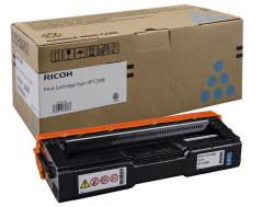 Toner do tiskárny Originálny toner Ricoh 407544 (Azúrový)