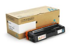 Toner do tiskárny Originálny toner Ricoh 407717 (Azúrový)