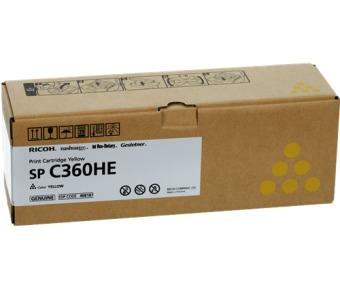 Originálný toner Ricoh 408187 (Žltý)