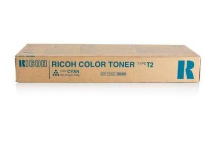 Originálny toner Ricoh 888486 (TypT2-C) (Azúrový)