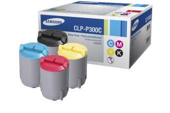 Originálne tonery Samsung CLP-P300C (Čierny + farebné) multipack