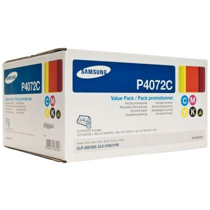 Originálne tonery Samsung CLT-P4072C (Čierny a farebné) multipack