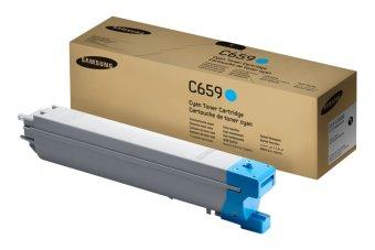 Originálny toner SAMSUNG CLT-C659S (Azúrový)