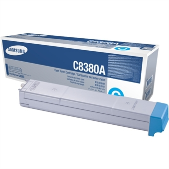 Originálny toner Samsung CLX-C8380A (Azúrový)