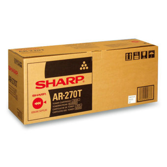 Originálný toner Sharp AR-270T (Čierný)