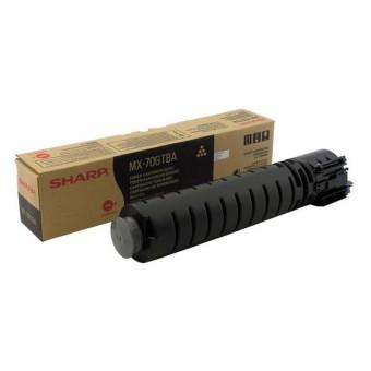 Originálny toner Sharp MX-70GTBA (Čierný)