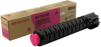 Originálny toner Sharp MX-70GTMA (Purpurový)