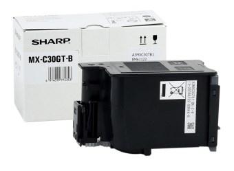 Originálny toner Sharp MX-C30GTB (Čierny)