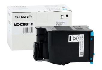 Originálny toner Sharp MX-C30GTC (Azúrový)
