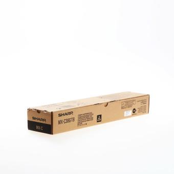 Originálny toner Sharp MX-C38GTB (Čierný)