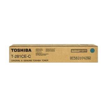 Originálny toner Toshiba T281CE C (Azúrový)