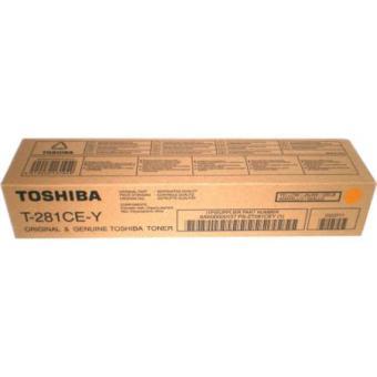 Originálny toner Toshiba T281CE Y (Žltý)