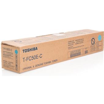 Originálny toner Toshiba TFC50E C (Azúrový)