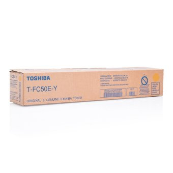 Originálny toner Toshiba TFC50E Y (Žltý)