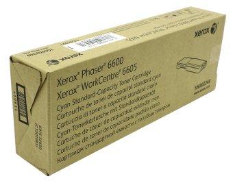 Originálny toner XEROX 106R02249 (Azúrový)