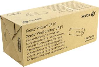 Originálny toner XEROX  106R02721 (Čierny)