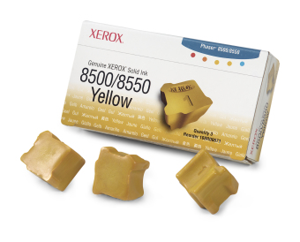 Originálny tuhý atrament XEROX 108R00671 (Žltý)