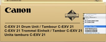 Originálny fotoválec CANON C-EXV-21C (0457B002) (Azúrový Drum)