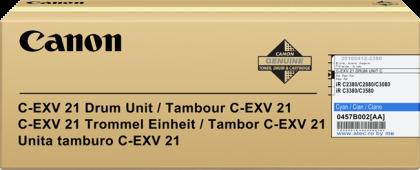 Originálny fotoválec CANON C-EXV-21C (0457B002) (Azúrový fotoválec)