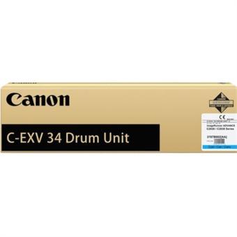 Originálny fotoválec CANON C-EXV-34C-V (3787B003) (Azúrový Drum)