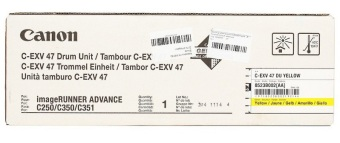 Originálny fotoválec CANON C-EXV-47Y (Žltý fotoválec)