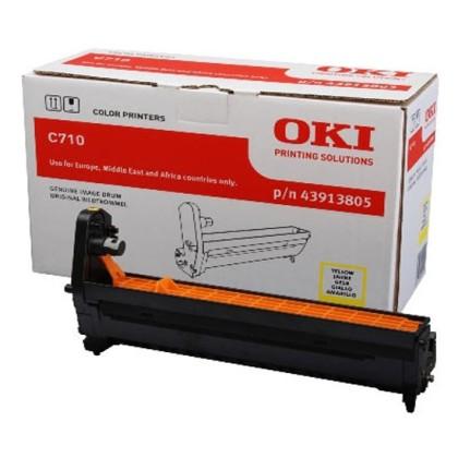 Originálny fotoválec OKI 43913805 (Žltý fotoválec)
