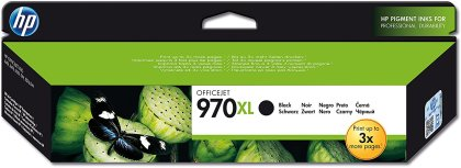 HP 970BK XL, CN625AE - originální