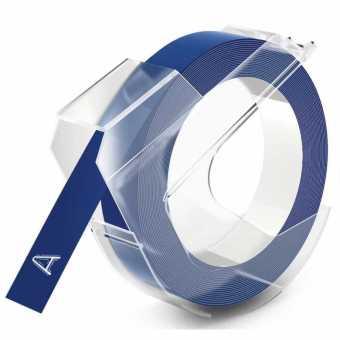Originálná páska DYMO S0898140, 9mm, biela tlač na modrom podklade