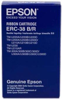 Originálna páska Epson C43S015376, ERC 38 (čierna, červená)