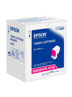 Originálny toner EPSON C13S050748 (Purpurový)