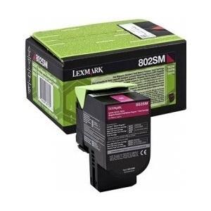 Originálny toner Lexmark 80C2SM0 (Purpurový)