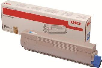 Originálny toner OKI 45862839 (Azúrový)