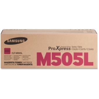 Originálny toner Samsung CLT-M505L (Purpurový)