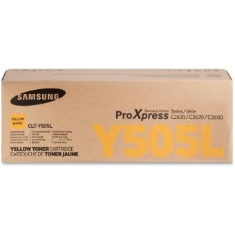 Originálny toner Samsung CLT-Y505L (Žltý)