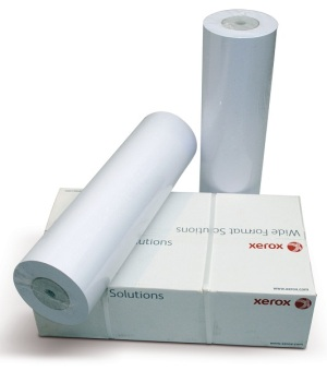 Papierová rola Xerox 297 mm x 50 m, 75g/m2, plotterový papier, biely