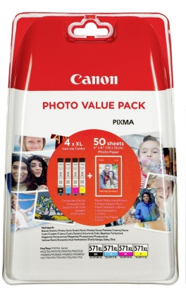 Sada Canon CLI-571XL - originální