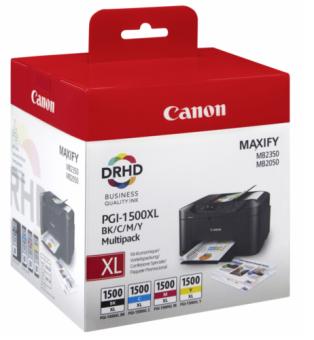 Sada originálných cartridge Canon PGI-1500XL