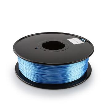 Tlačová struna PLA pre 3D tlačiarne, 1,75mm, 1kg, hodvábne - modrá