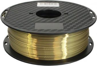 Tlačová struna PLA pre 3D tlačiarne, 1,75mm, 1kg, hodvábne - bronzová