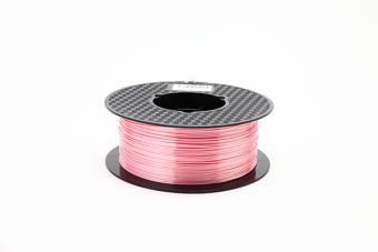 Tlačová struna PLA pre 3D tlačiarne, 1,75mm, 1kg, hodvábne - ružová