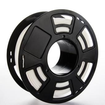 Tlačová struna ABS pre 3D tlačiarne, 1,75mm, 1kg, biela