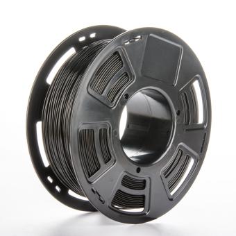 Tlačová struna ABS pre 3D tlačiarne, 1,75mm, 1kg, čierna