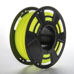 Tisková struna ABS pro 3D tiskárny, 1,75mm, 1kg, fluorescenční žlutá