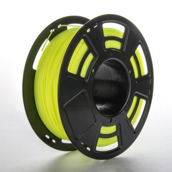 Tlačová struna ABS pre 3D tlačiarne, 1,75mm, 1kg, fluorescenčná žltá